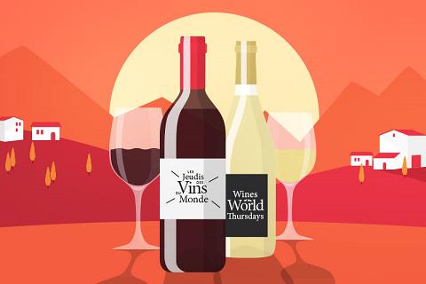 Les jeudis des vins du monde