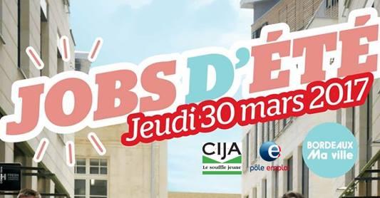 Jobs d'été Bordeaux