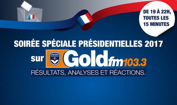 Soirée électorale sur GOLD FM