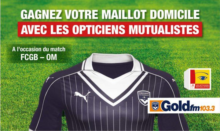 Gagnez votre Maillot FCGB