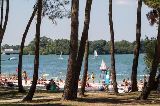 La plage du Lac : vacances en ville