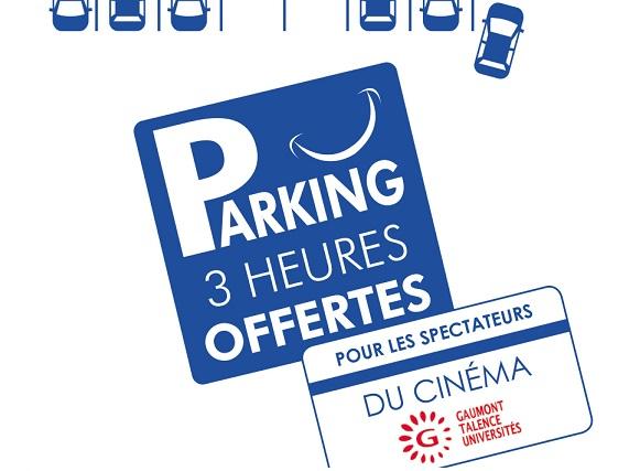 Nouveau parking – Gaumont Talence