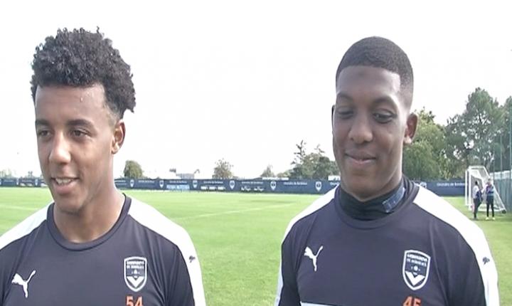 Koundé et Youssouf signent un premier contrat pro