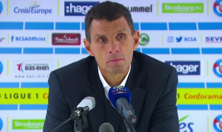 La conférence de presse de Poyet après Strasbourg